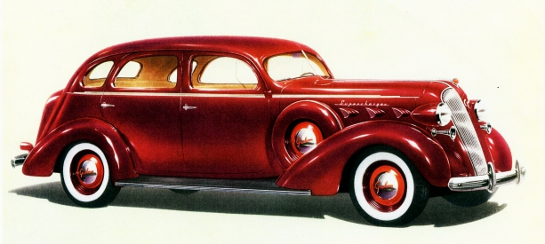 1937 Graham Custom Series 120 Supercharger Four-door Sedan  Licensed under Public Domain via Wikimedia Commons