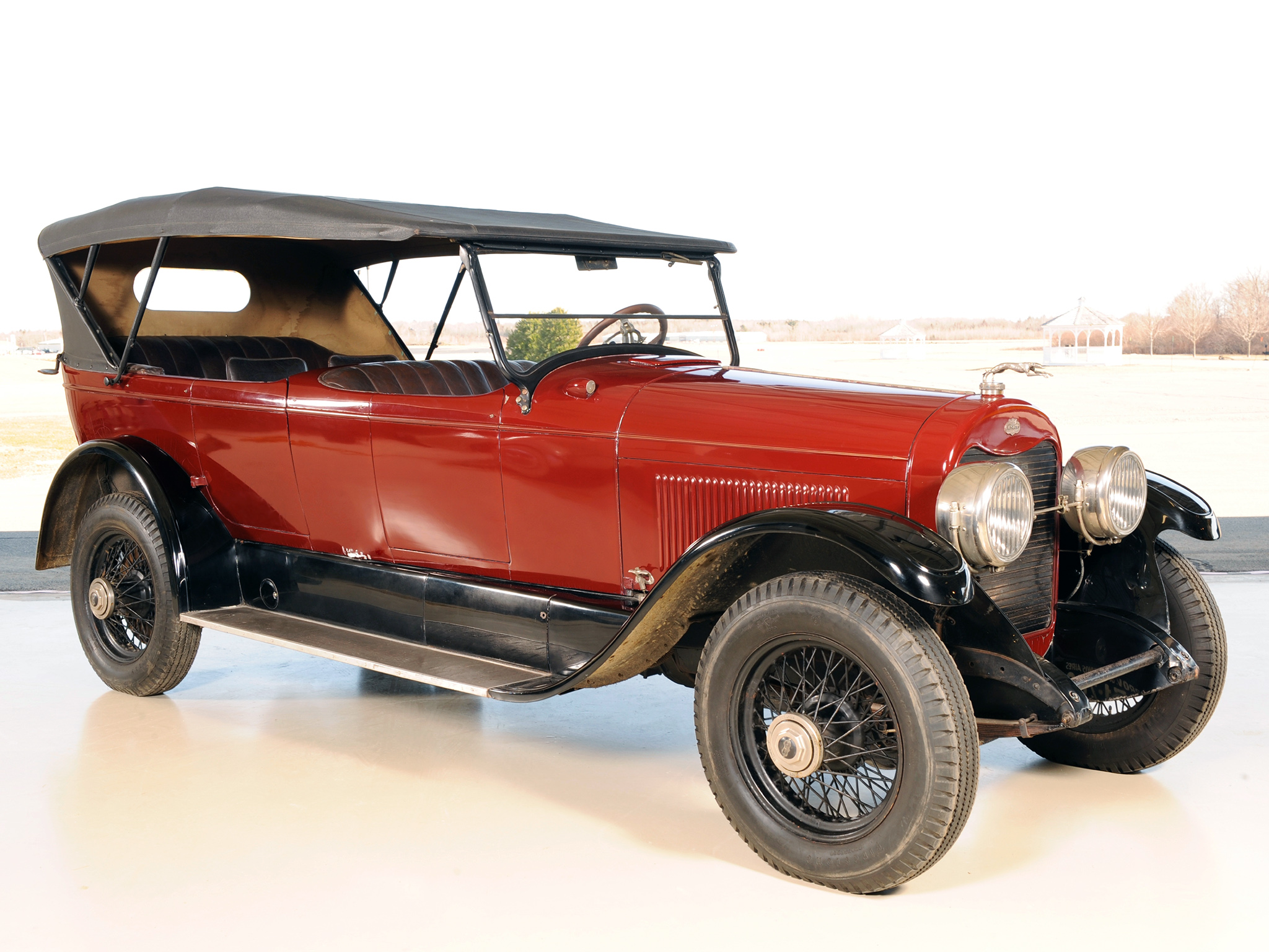 Cars Of Tintin Series Lincoln Model L 1926 The