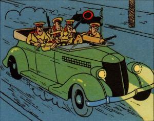 Ford Torpedo 1936 anime