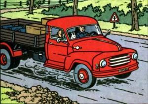 Tintin and Black Rock