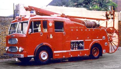 Dennis F101 Fire Engine