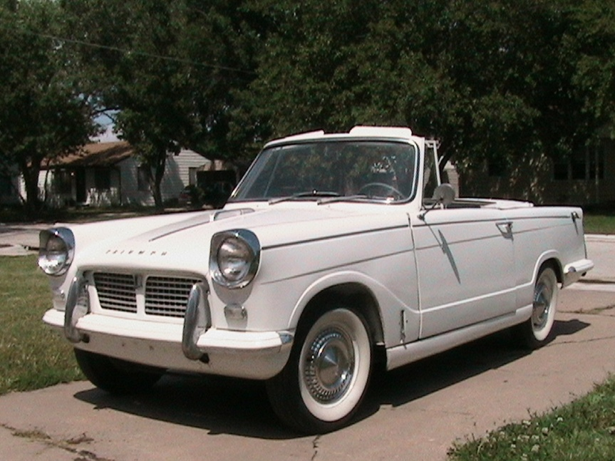 Cars of Tintin Series – Triumph Herald