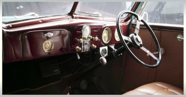 Ford Convertible Club Cabriolet 1937 Interior