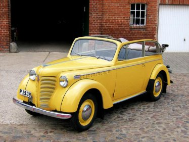 Opel Olympia 1938 Cabriolet