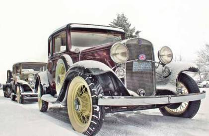 1932 Chevrolet Confederate Painting