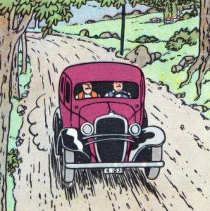 Chevrolet Coach Cartoon