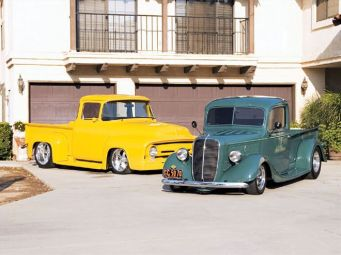 Ford Pickup 1937 Hotrod