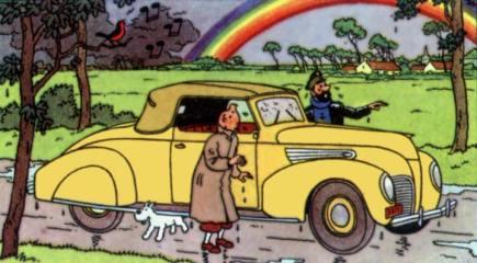 Lincoln Zephyr Cartoon
