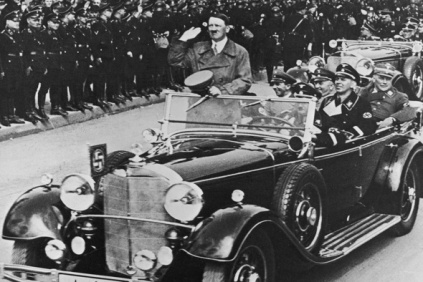 Hitler At Nuremberg