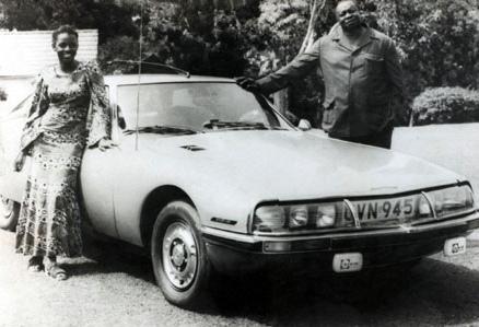 Idi Amin's Citroen SM