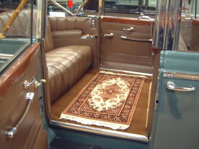 Interior of Stalin's ZIL ZIS 115