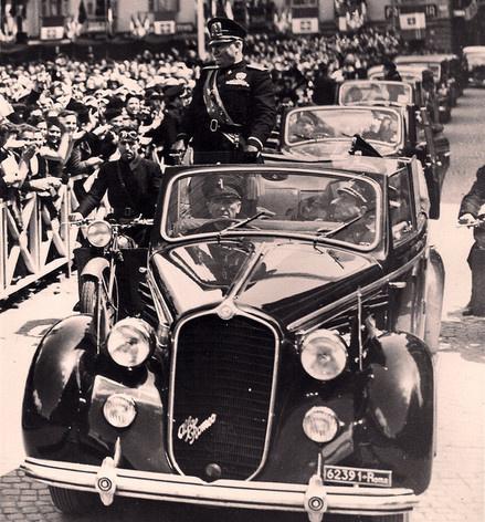 Mussolini's Alfa Romeo 6C 2300B