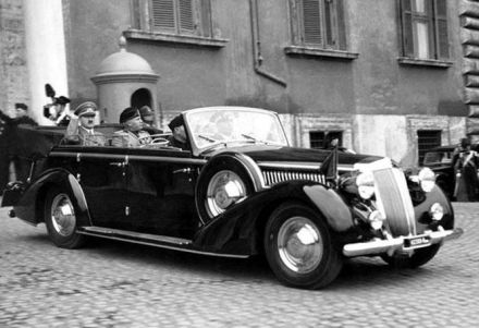 Mussolini's Lancia Astura