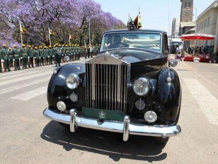 Robert Mugabe's Rolls Royce Phantom IV