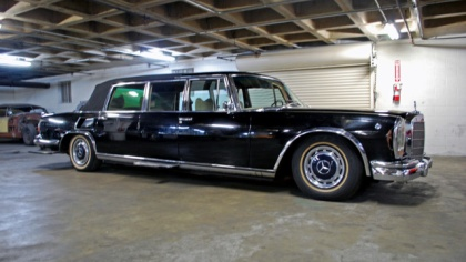 Saddam Hussein's Mercedes 600 Landaulet