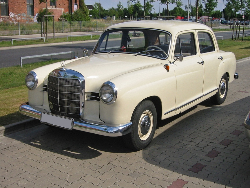 Cars of Tintin Series – Mercedes 180 (W120)