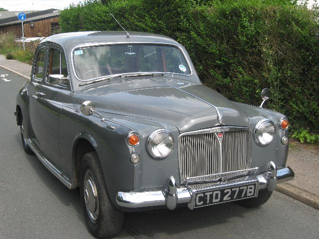Cars of Tintin Series – Rover 60 1954