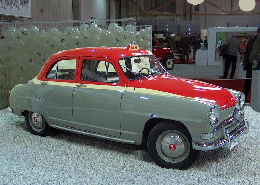 Cars of Tintin Series – Simca 9 Aronde 1954