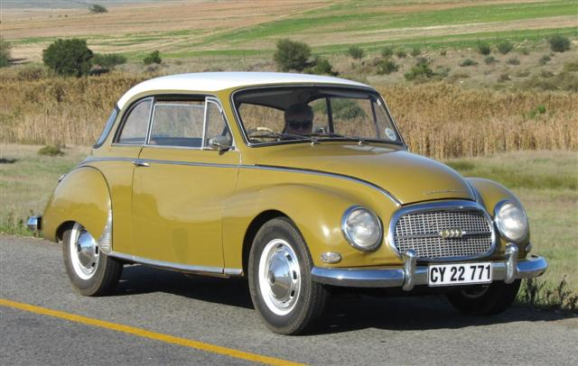 Cars of Tintin Series – DKW 3=6 1957