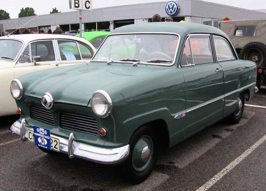Cars of Tintin Series – Ford Taunus 12M1953