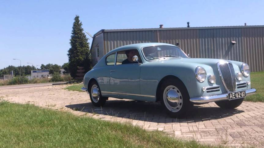 Cars of Tintin Series – Lancia Aurelia B20 GT