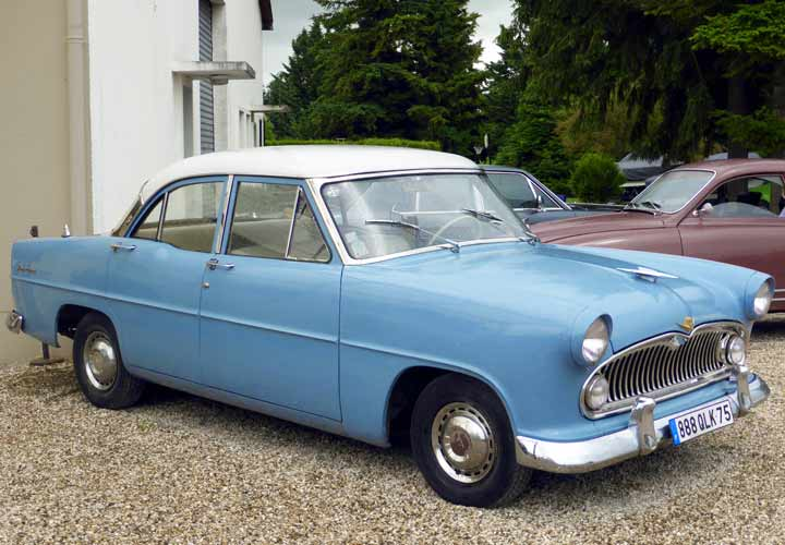 Cars of Tintin Series – Simca Vedette1955