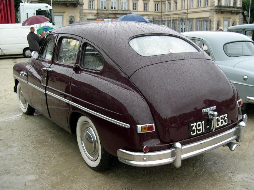 Cars of Tintin Series – Ford Vedette1949