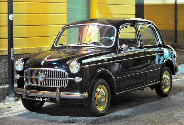 Cars Of Tintin Series Fiat 1100 103 The Transport Journal