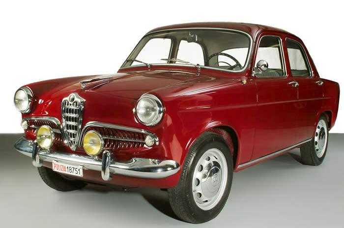 Cars of Tintin Series – Alfa Romeo Giulietta1955