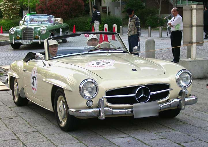 Cars of Tintin Series – Mercedes190SL