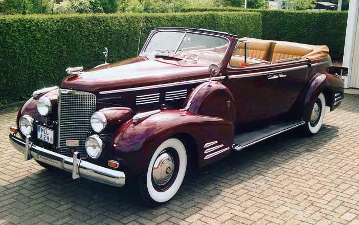 Cars of Tintin Series – Cadillac Type 751937