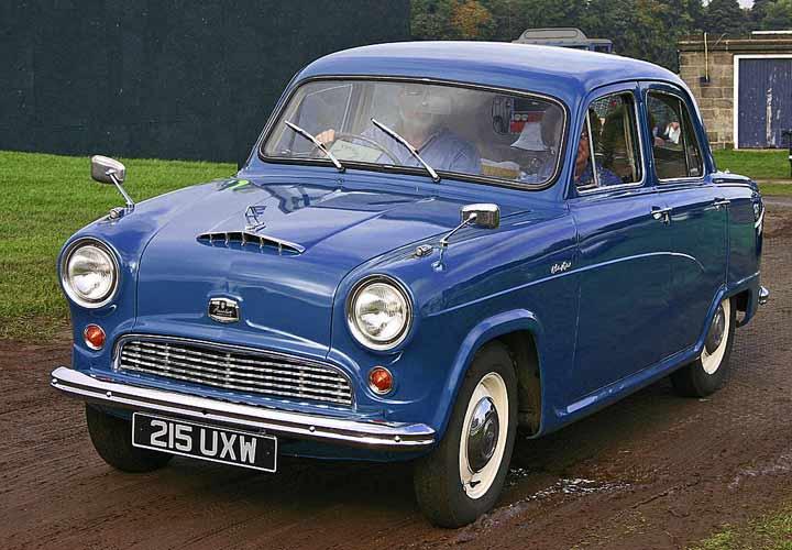 Cars of Tintin Series – Austin CambridgeA50