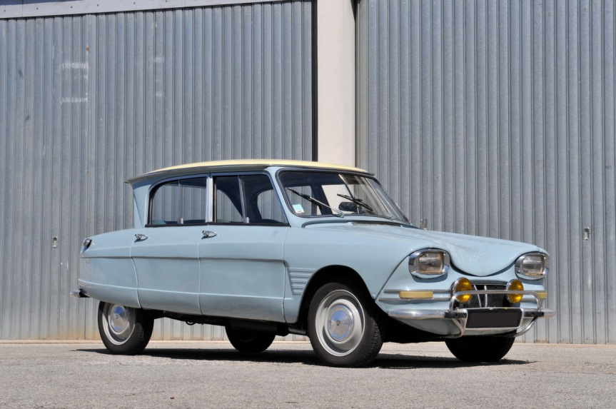 Cars of Tintin Series – Citroen Ami 6