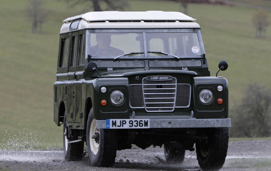 Cars of Tintin Series – Land Rover Series III