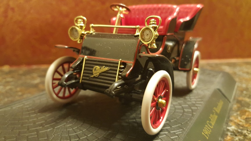 My Collection – 1903 Cadillac Model A Tonneau