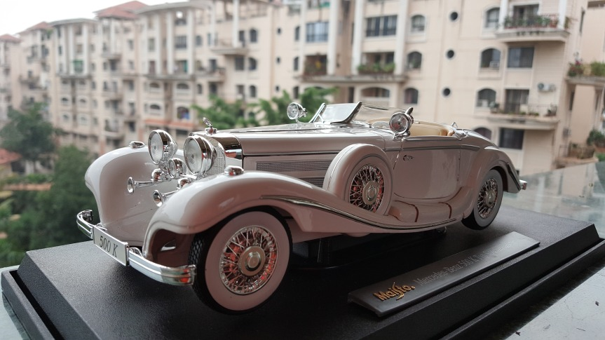 My Collection – Mercedes Benz 500K Special Roadster