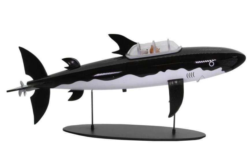 Tintin's Shark Submarine