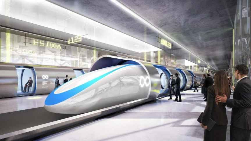 Future of Rail Travel – Hyper Loop