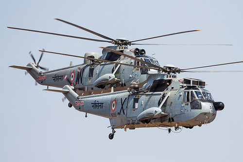 Angels in Kerala – Sea King Mk42C
