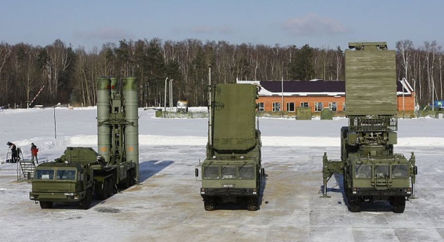 Vehicles of the S400 Triumf System