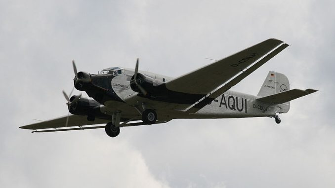 Aircraft of Tintin – Junker Ju52