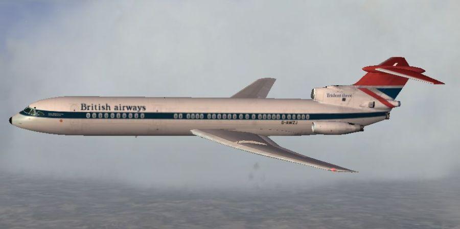 Hawker Siddley Trident_4