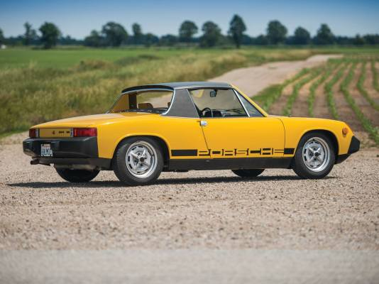 Porsche 914, Targa Top, Sports cae