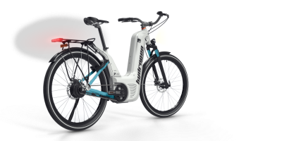 Pragma Hydrogen Fuel Cell Bicycle