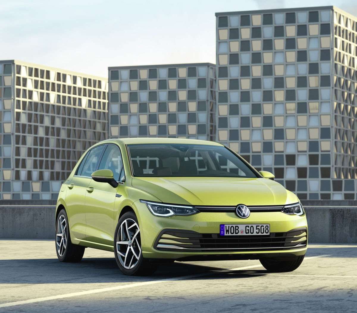 8th generation golf from vw is smart clean yet emotive